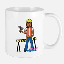 Construction Worker Woman Mug