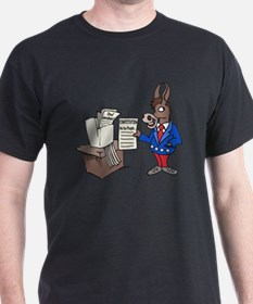 Democrats at Work - middle T-Shirt