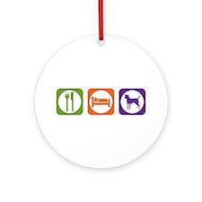 Eat Sleep Patterdale Ornament (Round)