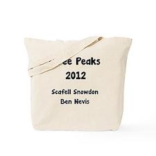 Three Peaks Challenge Tote Bag