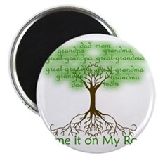 Blame it on My Roots Magnet