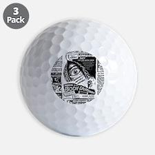 Movie Ad Body Snatchers Golf Ball