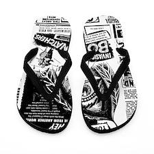 Movie Ad Body Snatchers Flip Flops