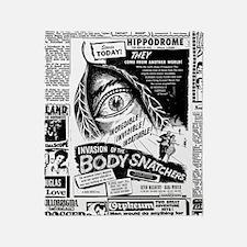 Movie Ad Body Snatchers Throw Blanket