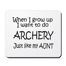 WIGU Archery Aunt Mousepad