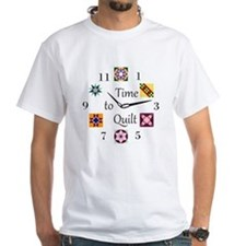 Time to Quilt Clock Shirt