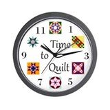 Quilting Wall Clocks