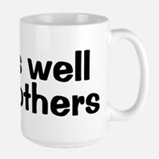 PLAYS WELL WITH OTHERS Large Mug