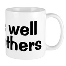 PLAYS WELL WITH OTHERS Small Mugs