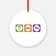 Eat Sleep PIO Ornament (Round)