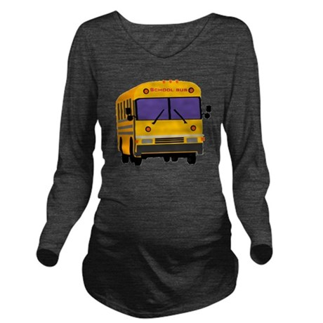 Bus_0014.gif Long Sleeve Maternity T-Shirt