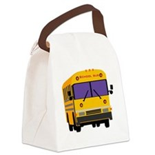 Bus_0014.gif Canvas Lunch Bag