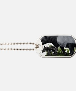 Malayan Tapir and Young Dog Tags