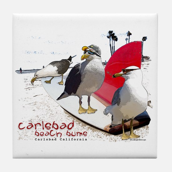 Carlsbad California Tile Coaster