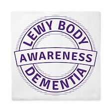 Lewy Body Dementia Awareness Queen Duvet