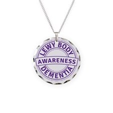 Lewy Body Dementia Awareness Necklace