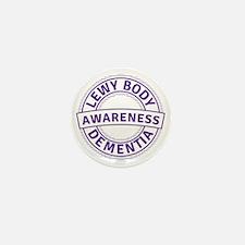 Lewy Body Dementia Awareness Mini Button