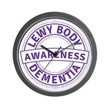 Lewy Body Dementia Awareness Wall Clock