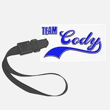 Team Cody Luggage Tag