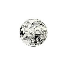 MONTEL WILLIAMS AND SYLVIA BROWNE Mini Button