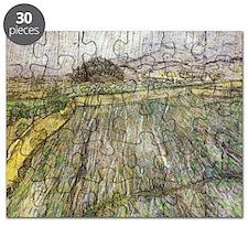 Vincent Van Gogh Rain Puzzle