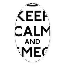 Keep Calm and Smeg Off Decal