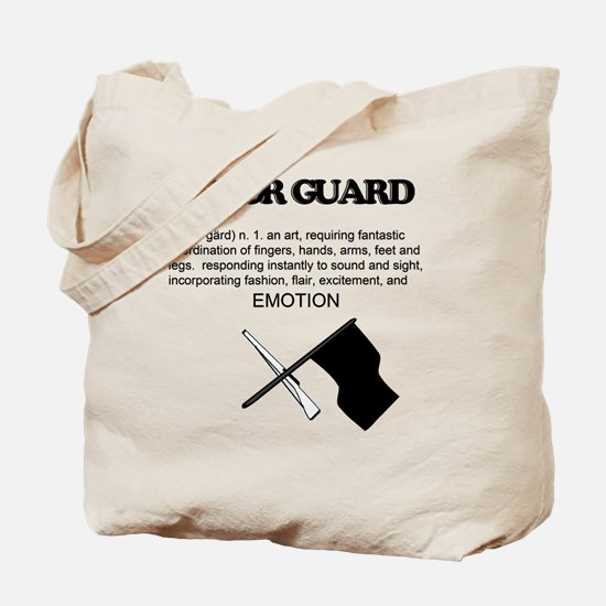 Guard Definition Tote Bag