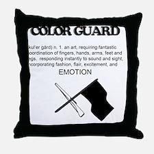 Guard Definition Throw Pillow