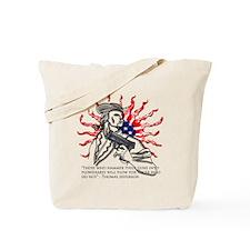 Guns for Plows Tote Bag