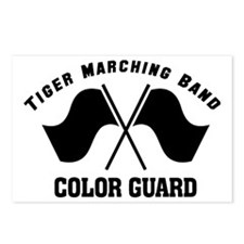 Color Guard Logo Postcards (Package of 8)