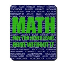 Careers in Math Mousepad