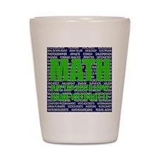Careers in Math Shot Glass