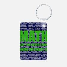 Careers in Math Aluminum Photo Keychain