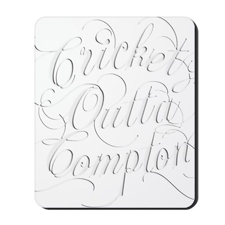 Cricket Outta Compton Mousepad
