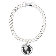 Applergies Abroad BW Bracelet