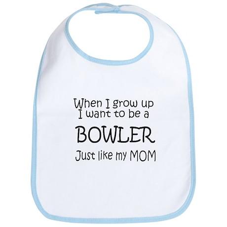 WIGU Bowling Mom Bib