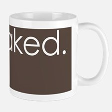 get naked. (brown) Mug