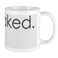 get naked. (white) Mug