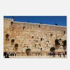 Western Wall (Kotel), Jer Postcards (Package of 8)
