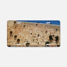 Western Wall (Kotel), Jerus Aluminum License Plate