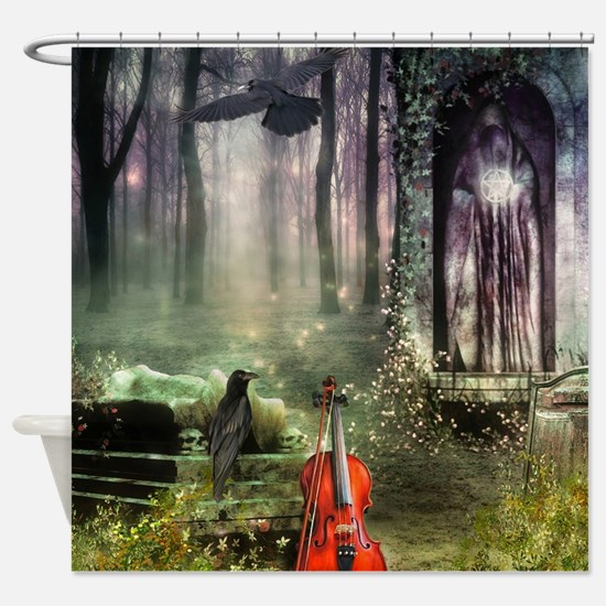 Gothic Dreamland Shower Curtain