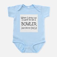 WIGU Bowling Uncle Infant Bodysuit