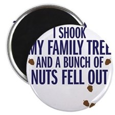nuts fell out Magnet