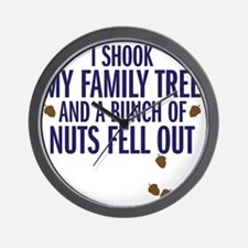 nuts fell out Wall Clock