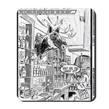 BULLTWINKLE MOOSE #1 Mousepad
