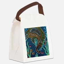 Platypus Adventure Canvas Lunch Bag