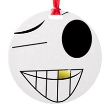 Black and Yellow Ornament