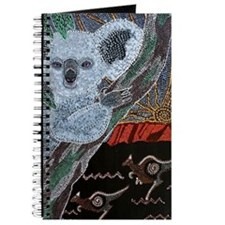 Koala  Kangaroo Sunset Journal