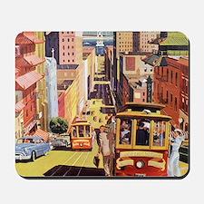 Vintage San Francisco Mousepad