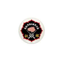 Black Shorin-Ryu Logo Mini Button
